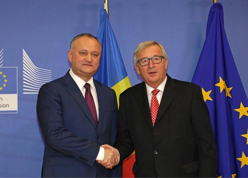 Игорь Додон: Поддержка ЕС никак не сказалась на простых гражданах Молдовы